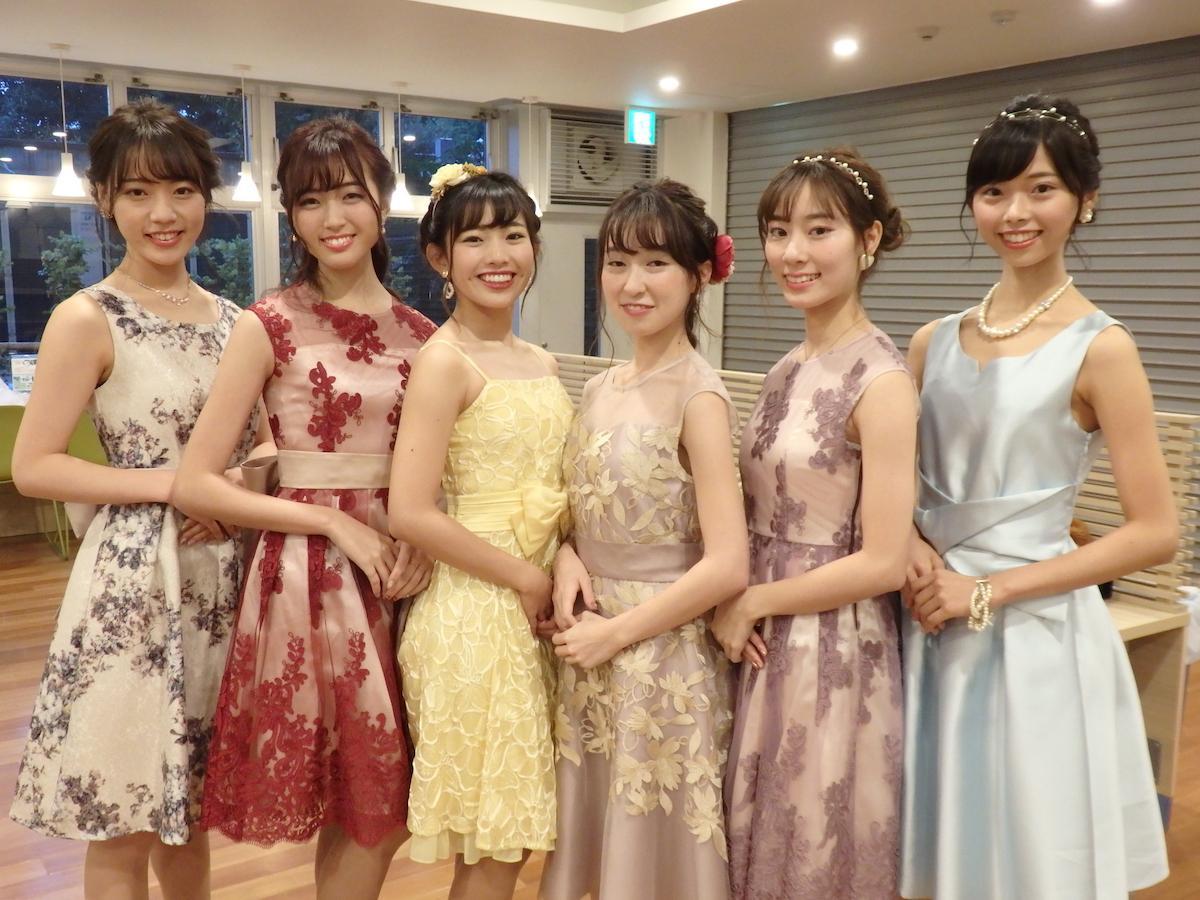 出場者6名。左から佐藤さん、中野さん、高橋さん、須見さん、中島さん、園田さん