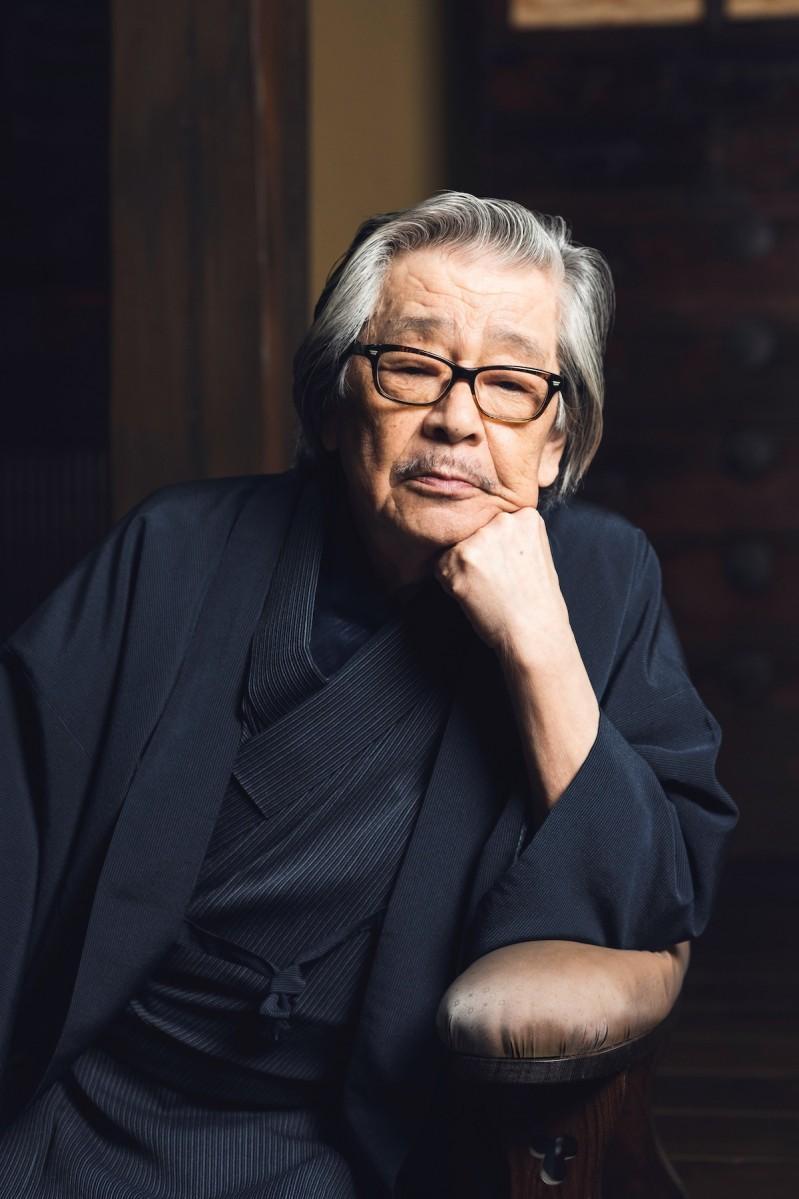 筒井康隆(撮影:網中健太)