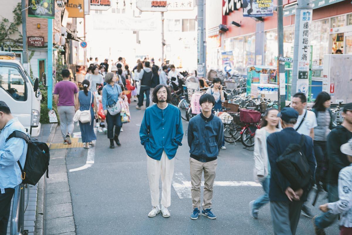 今泉力哉監督(左)と大橋裕之さん(右)