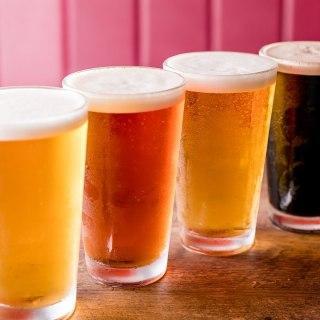 提供されるクラフトビールのイメージ