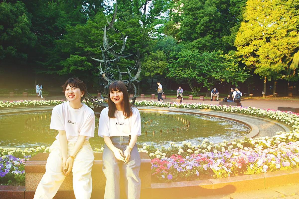 「Dear...ep4」イメージモデルの佐藤しのさんと米持杏海さん