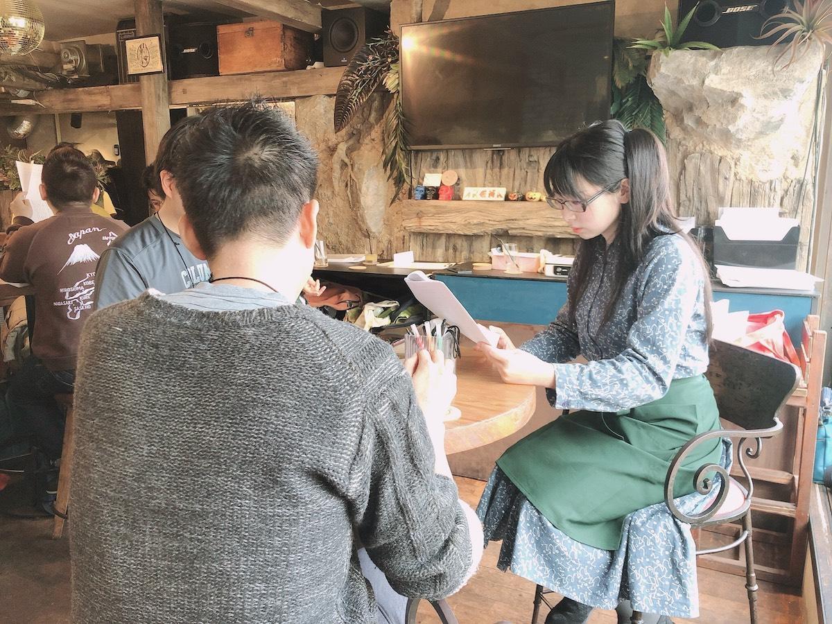 過去の読み合わせカフェの様子