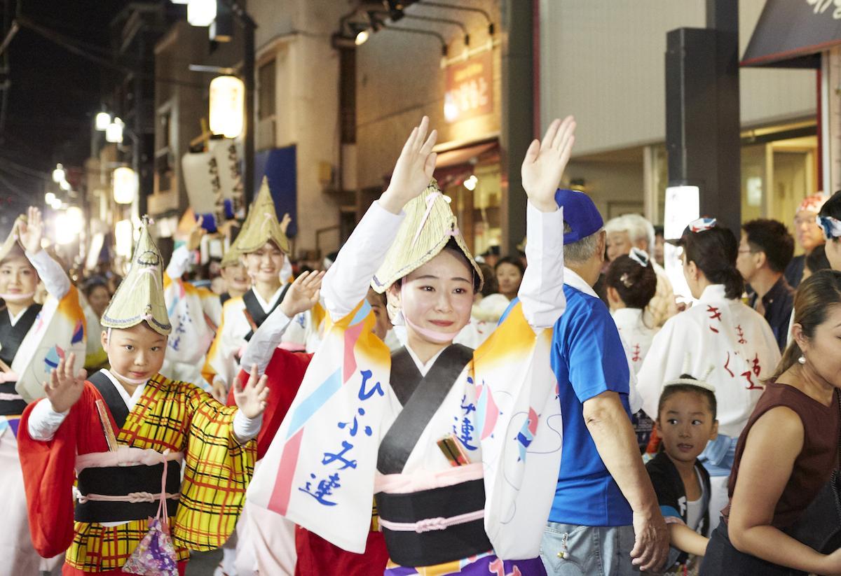 昭和48年に設立された「下北沢ひふみ連」