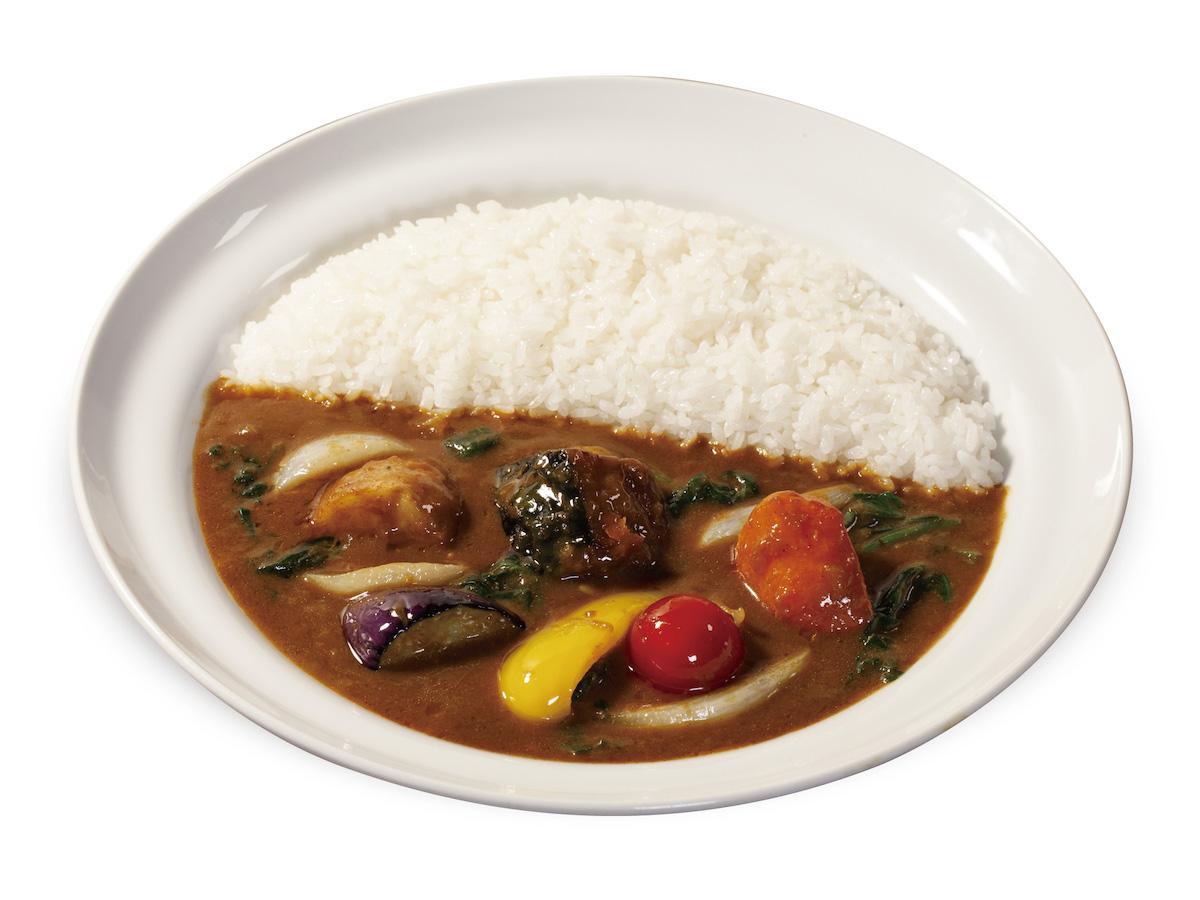 「季節の野菜欧風カレー」