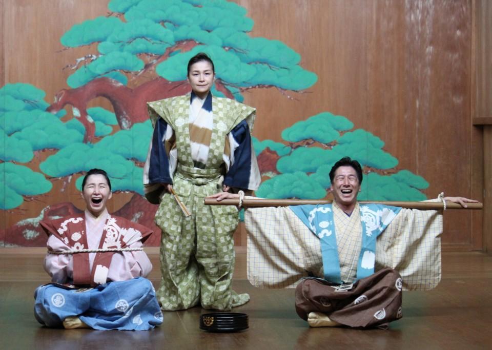 下北沢で初開催される和泉流宗家による狂言