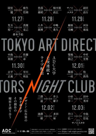 下北沢でアートディレクターのオンラインイベント 日替わりで29人が出演