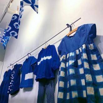 下北沢に藍染専門店 工房で手染め、社会福祉法人の製品を販売