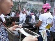 「目黒のさんま祭り」大盛況-無料さんまの行列は五反田駅近くまで