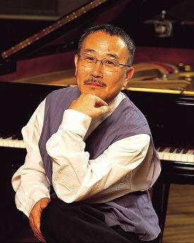 「第3回 なかのぶジャズフェスティバル」に出演するジャズピアニストの山下洋輔さん。