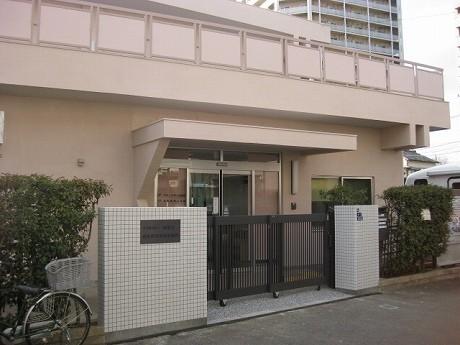 JR西大井駅近くの「森前障害者福祉施設」の外観。