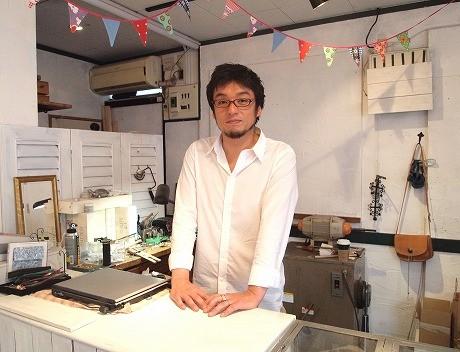武蔵小山出身のオーナーの秋田昭一さん