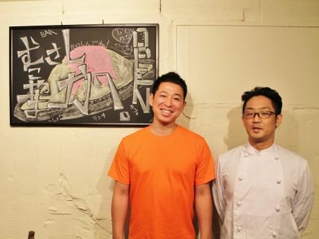 金川さん(写真左)と篠原さん