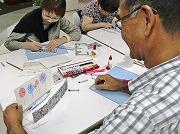 品川で浮世絵テーマにトーク&ワークショップ-24通り「立版古」作品完成