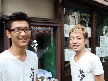 戸塚さん(写真左)とスタッフ