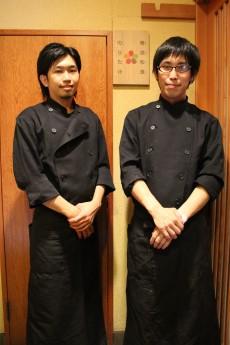 三浦さん(写真左)とスタッフ