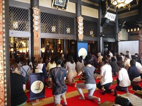 過去に行われた「高野山カフェ・プチ修行」をリニューアル