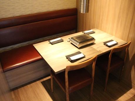 「うしごろ 貫 五反田店」の個室席