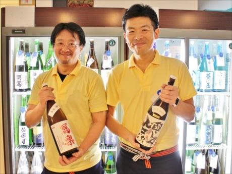 社長の関谷さん(右)と店長の荒木さん