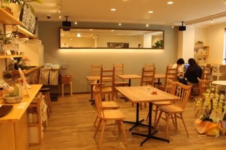 「カフェ ユウ」の内装