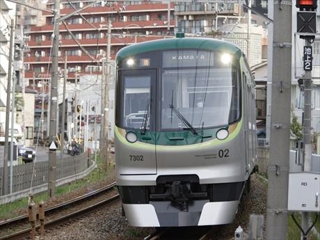 東急池上線 画像提供/東急電鉄
