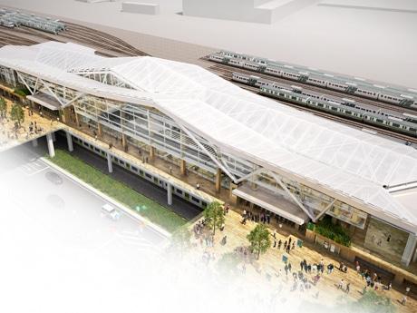 品川新駅の外観イメージ