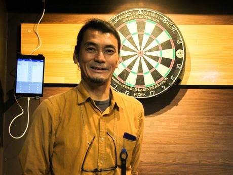 「サードプレイス旗の台」オーナーの寺田年秀さん