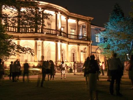 旧島津公爵邸のライトアップ