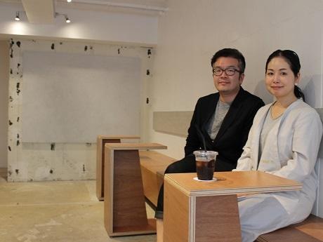 林口さん(左)とリリリさん