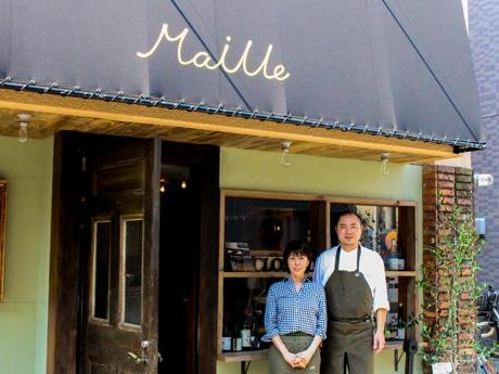 「Maille(マイユ)」オーナーの村上裕隆さん(右)
