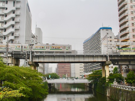 生活名所に選ばれた五反田の「目黒川」