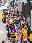 北品川・旧東海道で「品川キッズハロウィンパレード」 3回目で参加者500人規模に