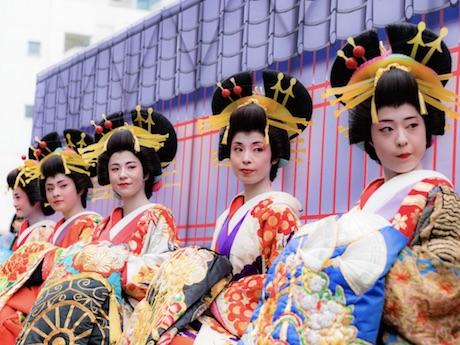 旧東海道沿いの「しながわ宿場まつり」開催迫る おいらん役に初の海外出身者も