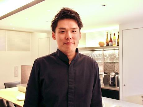 オーナーシェフの深谷博輝さん