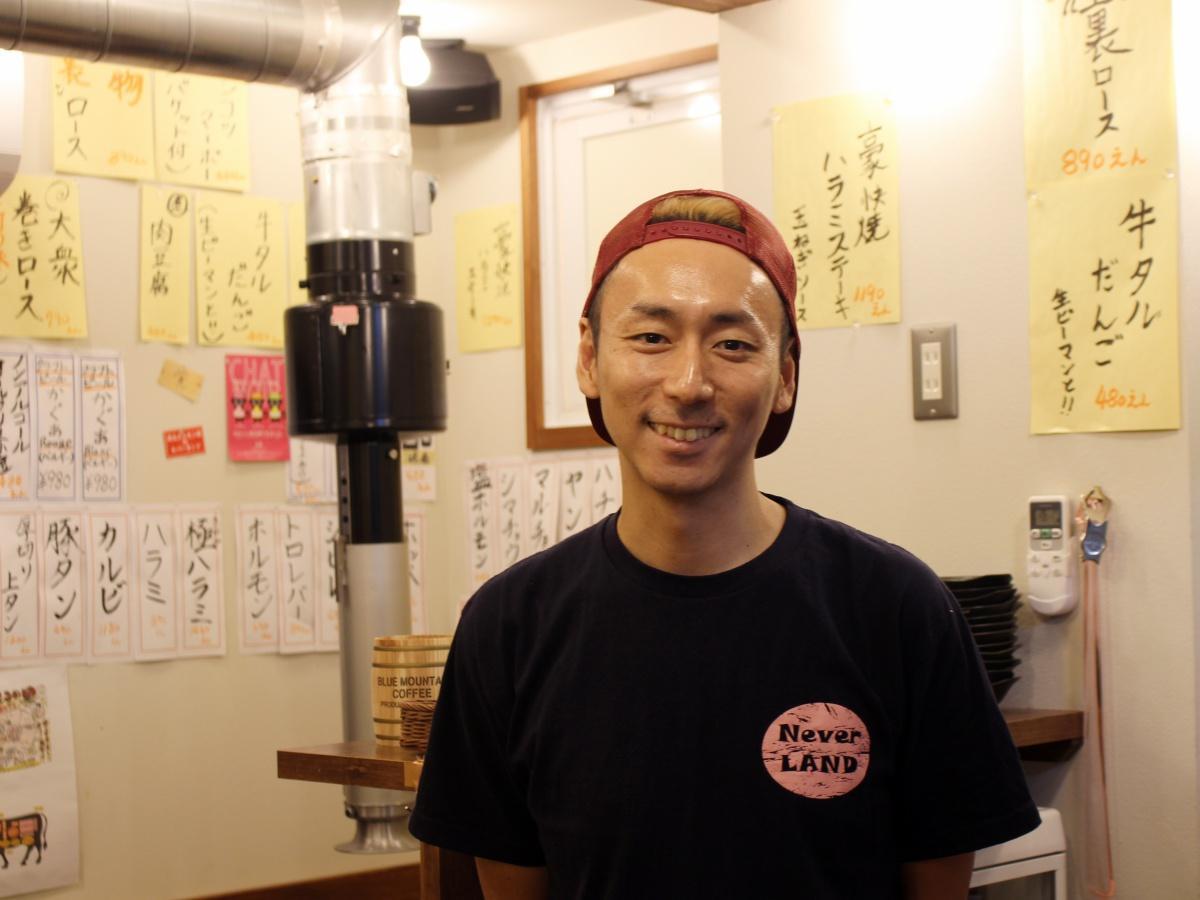 店主の澤田泰広さん