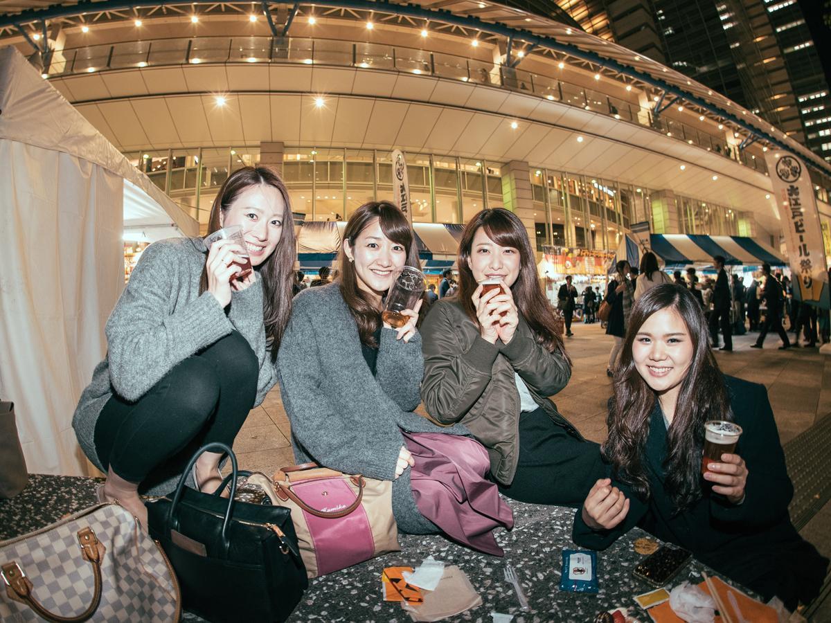 「大江戸ビール祭り2017年秋」来場客の様子