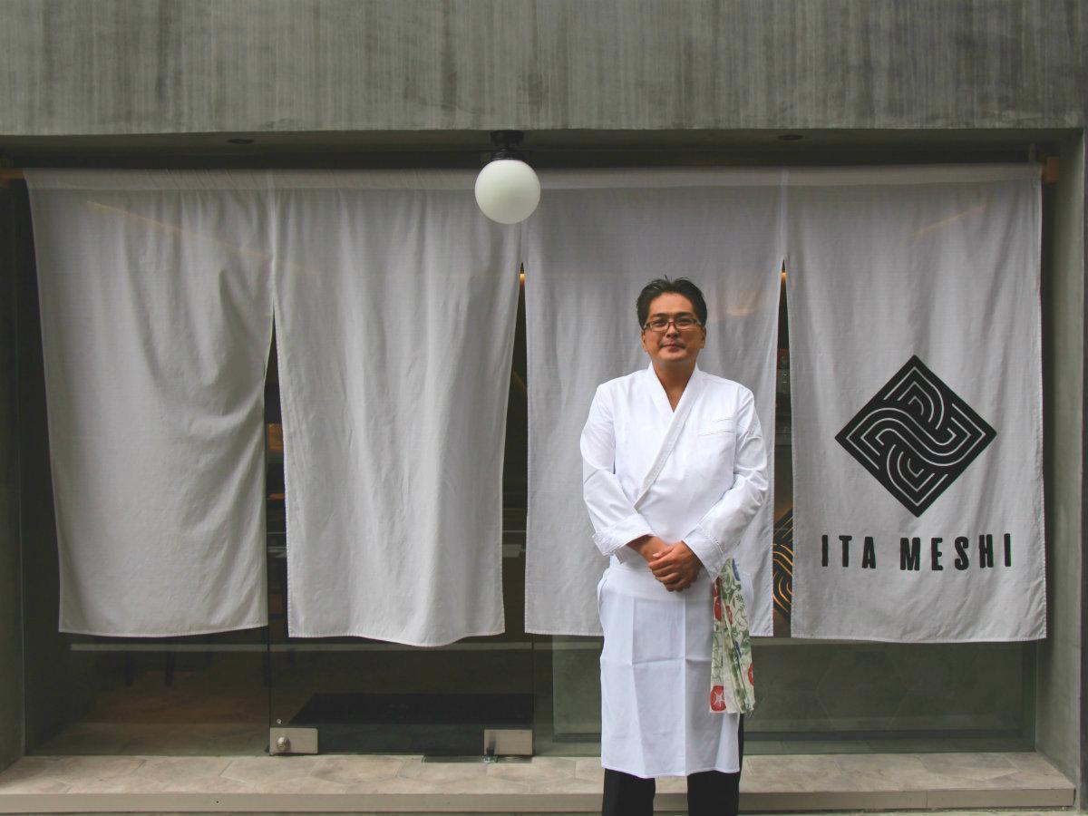 料理長の岡崎大輔さん
