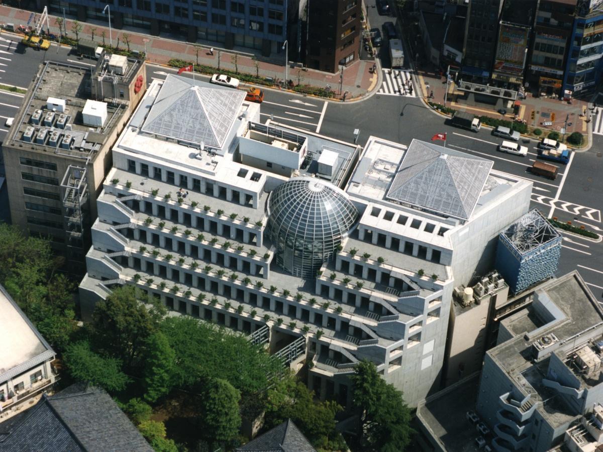 東京デザインセンター(写真提供=品川区建築課)