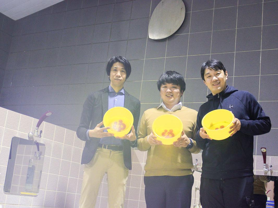 左から後藤大輔さん、角屋文隆さん、沢渡あまねさん