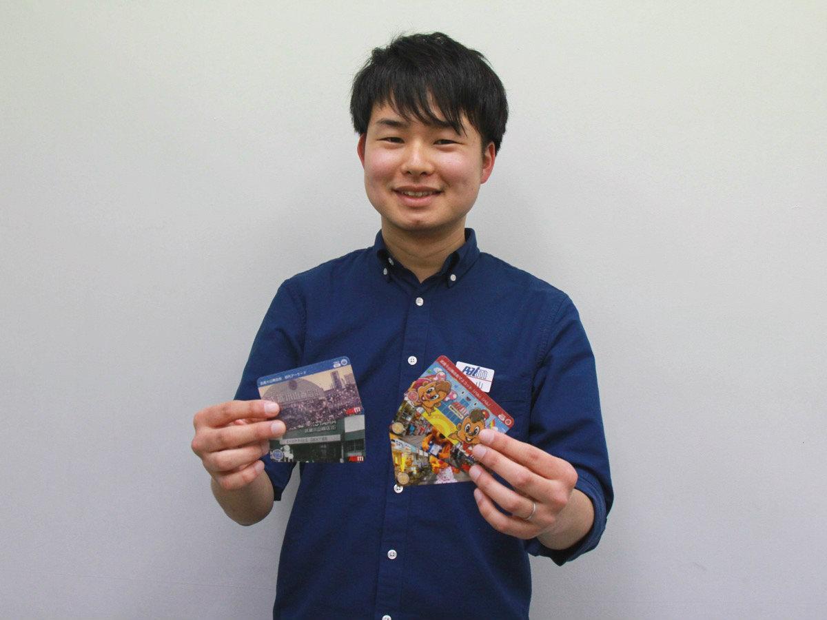 武蔵小山商店街振興組合の西山湧大さん