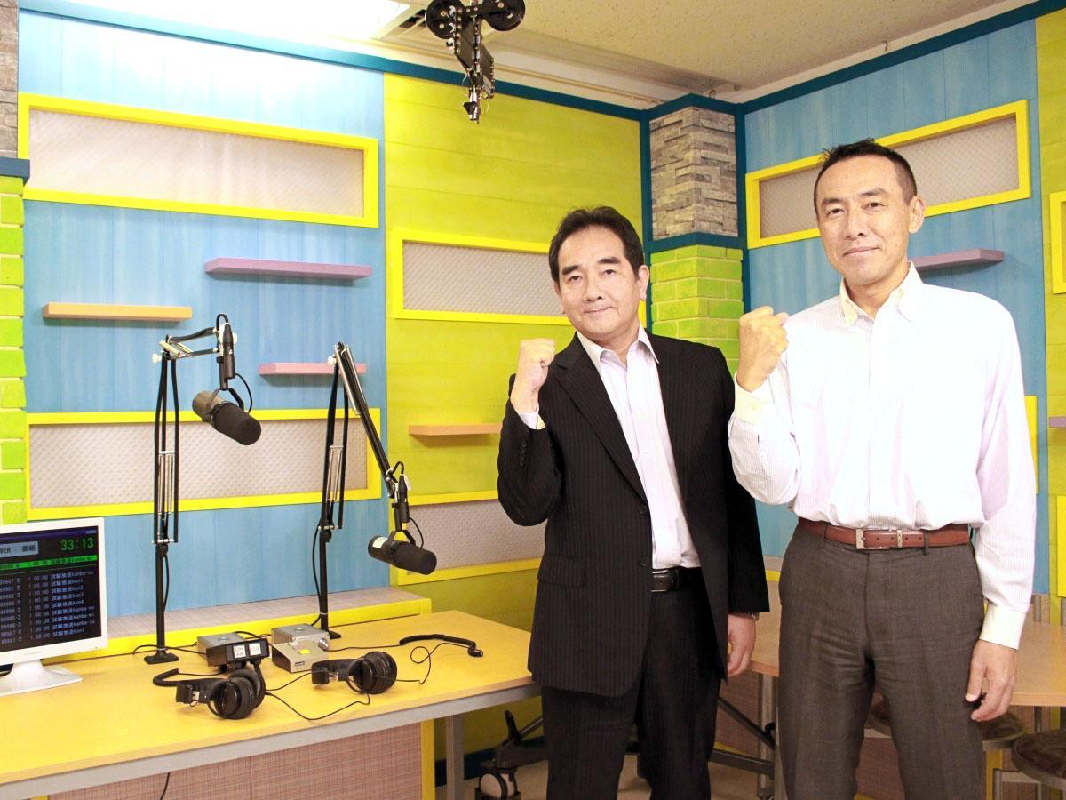 代表の大木晋さん(左)とメディア・企画部部長の高橋敏志さん