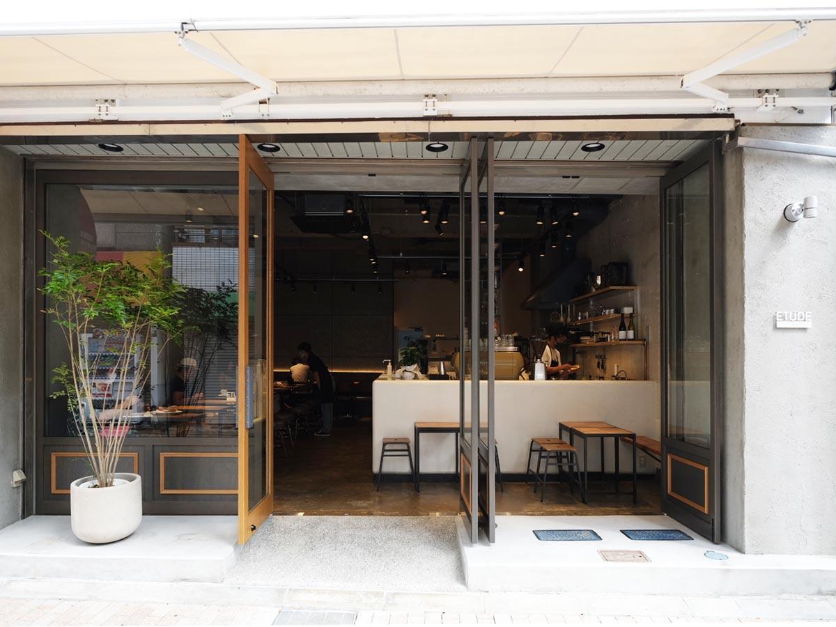 「ETUDE-MONZ-CAFE」外観