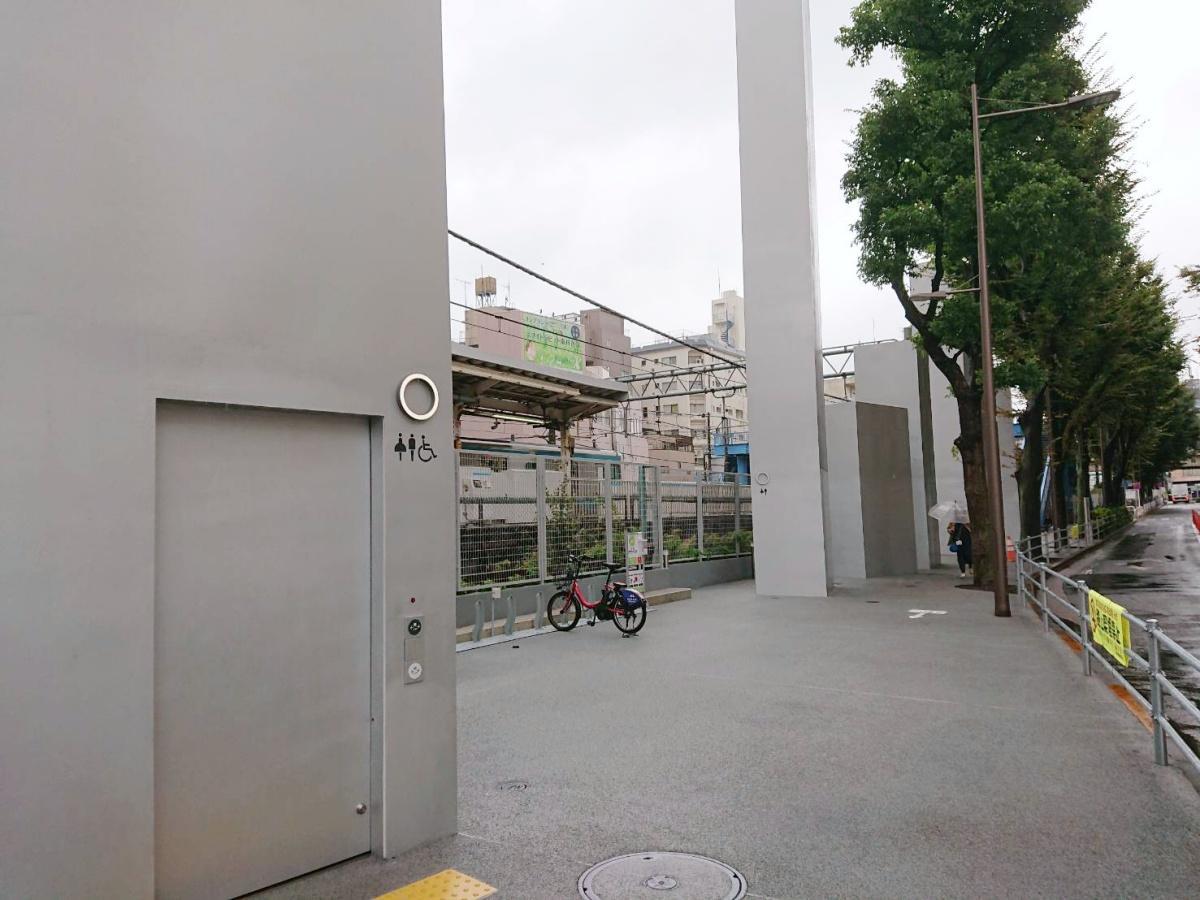 大井町駅前の公衆トイレ