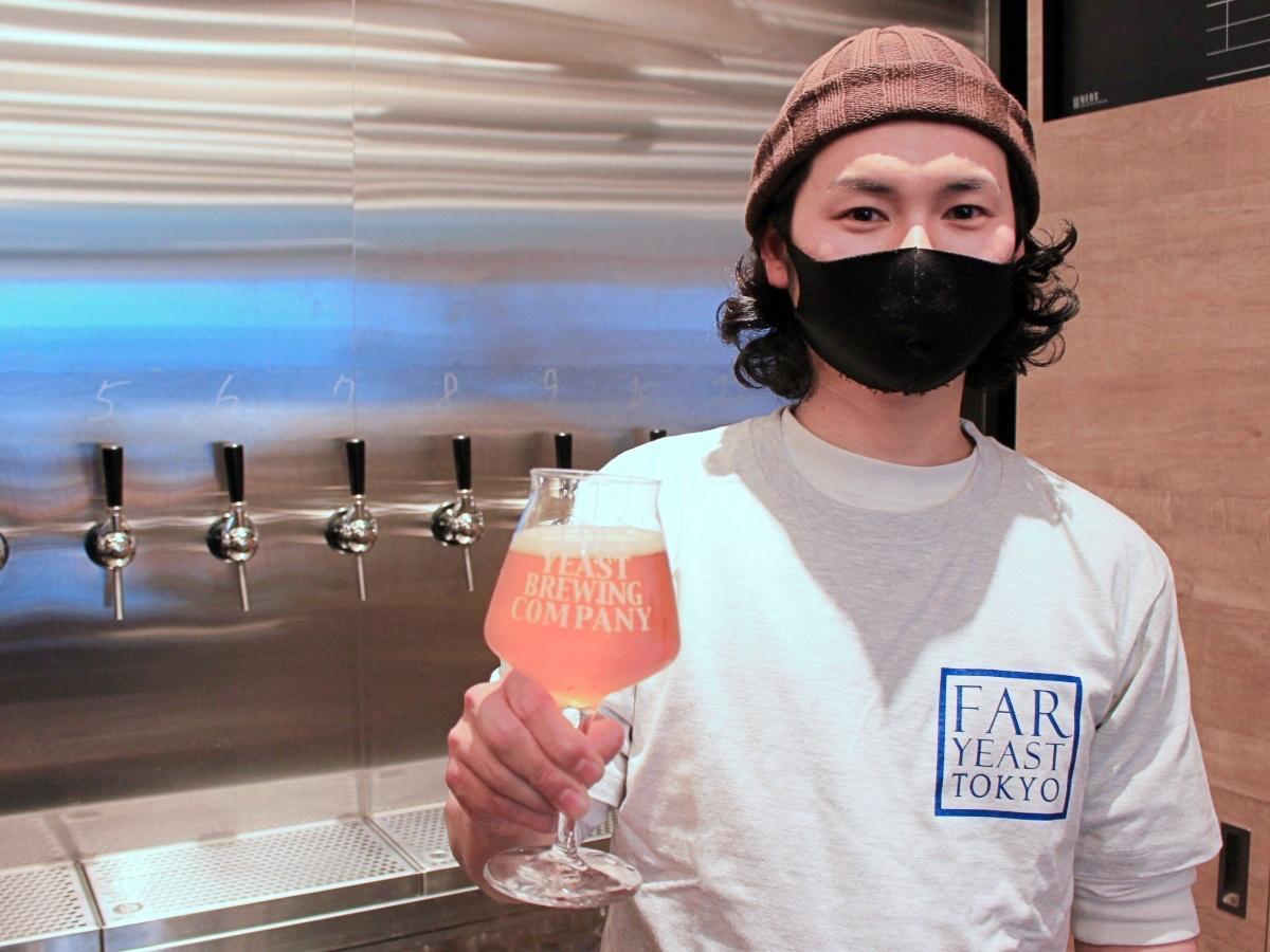 「Far Yeast Brewing 東京醸造所」で醸造した初のオリジナルビール「Gotanda Smash」
