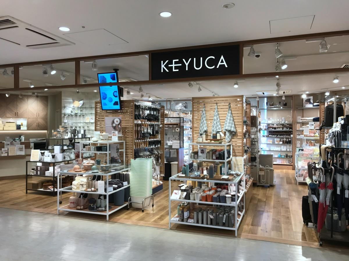 「KEYUCA 五反田東急スクエア店」の入り口