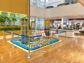 アトレ大井町で「サマートレインフェスティバル」 駅周辺を再現した模型展示も