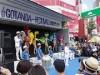 五反田駅東口ロータリーで「五反田夏祭り」 サルサのダンスグループが初参加