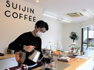 南大井・桜新道にコーヒースタンド「SUIJIN COFFEE」 4種のスペシャルティを用意