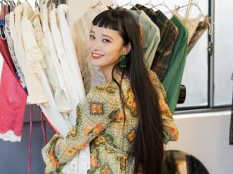 荏原のセイムキオスク内に「マン ヴィンテージ」 モデルの萬波ユカさんが海外で買い付け