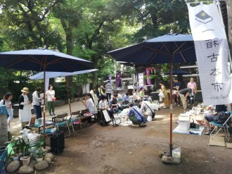 戸越八幡神社で「一箱古本市」開催迫る 店主推薦「絵本コーナー」を新設