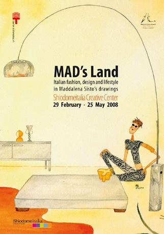 汐留イタリア街の「Shiodomeitalia クリエイティブ・センター」は伊ファッションイラストレーターマッダレーナ・シスト展を開催する